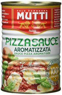 Mutti Pizza Sauce aromatizzato frisch geerntete Tomaten 400g 4er Pack