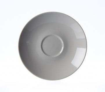 Ritzenhoff und Breker Doppio grau Kaffee-Untertasse in einem stilvollem Grau
