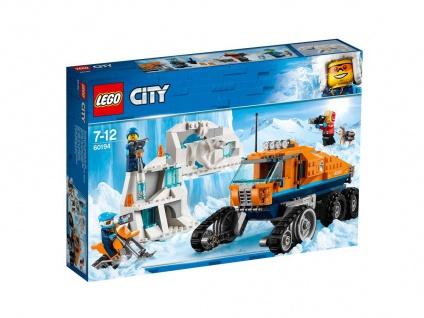 Lego City 60194 Arktis-Erkundungstruck große Entdeckungen warten auf dich