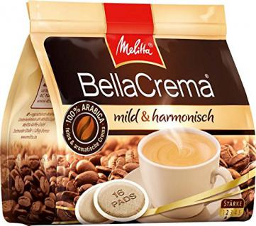 Melitta Haushaltsprod. Kaffee-Pads Bella Crema mildharmonisch(VE