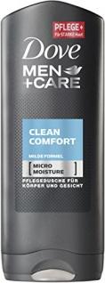 Dove Men Care Clean Comfort Pflegedusche für Männer 250ml 12er Pack