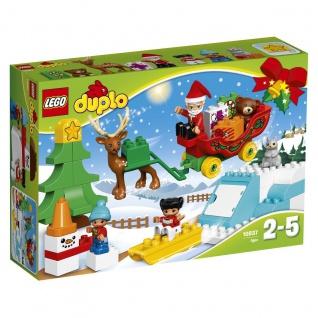 Lego Winterspass Weihnachtsmann Duplo Winter ab 2 bis 5 Jahren