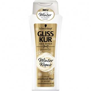 Schwarzkopf Gliss Kur Shampoo Winter Repair Anti Statik Effekt 300ml