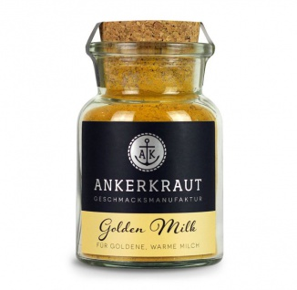 Ankerkraut Golden Milk Milch Gewürzmischung im Korkenglas 75g