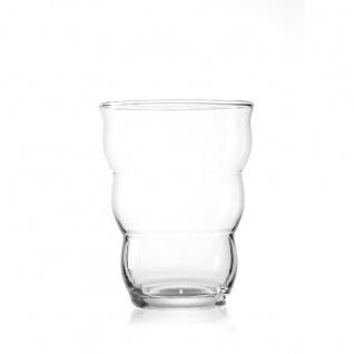 Ritzenhoff und Breker transparente Meo Vase Kollektion Flirt Höhe 18cm