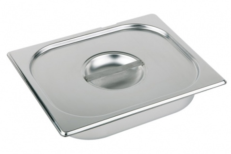 Assheuer und Pott Deckel zu GN Behälter Edelstahl 325 x 265 x 35