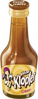 Kleiner Klopfer Feiner Sahnelikör Cream praktiche 20ml Flasche