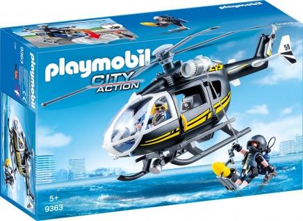 Playmobil SEK Helikopter