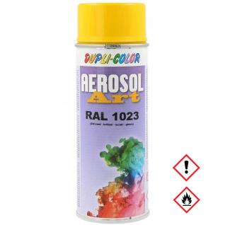 Dupli Color Aerosol Art RAL 1023 Glänzend Buntlack Spraydose 400ml