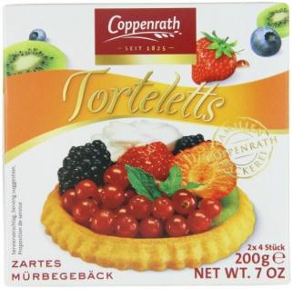 Coppenrath zarte Mürbetorteletts gebackene Mini-Tortenböden 200g 10er Pack