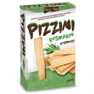 Fiore Mio Pizzini Knabbergebäck Stangen mit Rosmarin Geschmack 100g