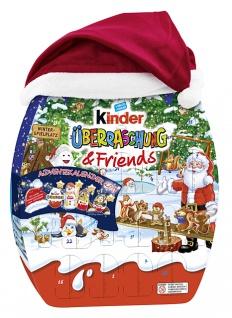 Ferrero Kinder Überraschung and Friends Adventskalender 431g