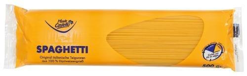 Monte Castello Spaghetti, 15er Pack (15 x 500 g Packung)