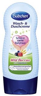 Bübchen Wasch und Duchcreme Babyhaut Wild Berries 230ml 4er Pack
