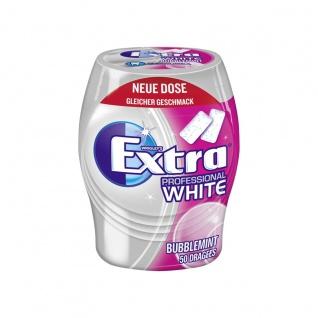 Wrigleys extra Professional White Bubblemint zuckerfreie Kaugummi 68g