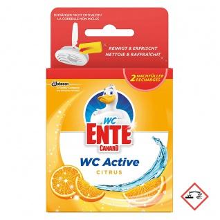 WC Ente Active WC Frische mit Citrus Duft Nachfüller 2 Stück a 40g