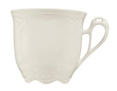 Königlich Tettau 004.030353 Obere zur Kaffeetasse 0, 21 L, Rubin cream