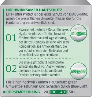 DIADERMINE LIFT+ Tagespflege ULTRA PROTECT Tagescreme mit Blue-Light Schutz 50ML
