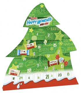 Ferrero Kinder Happy Moments Adventskalender kinderMinis 133g 8er Pack