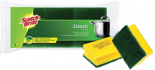 Scotch-Brite® Classic Topfreiniger CLNS3, 3er Pack