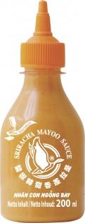Sriracha Mayoo Sauce angenehm würzig scharfe Sauce Inhalt 200ml
