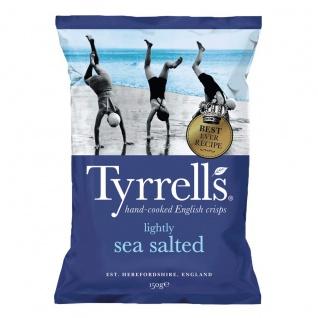 Tyrrells Handcooked Lightly Sea Salt Chips Vegetarisch vegan 150g