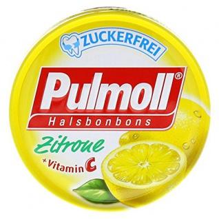 Pulmoll Hustenbonbons Zitrone Geschmack mit plus an Vitamin C