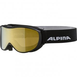 Alpina Challenge 2.0 black gold HM MM Ski und Snowboardbrille