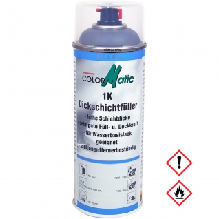 Colormatic 1K Dickschichtfueller Acryl Füller hohe Deckkraft 400ml