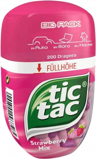 Ferrero tic tac Strawberry Mix Big Pack 98g