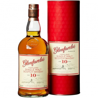 Glenfarclas Highland Single Malt Scotch Whisky 10 Jahre 700ml