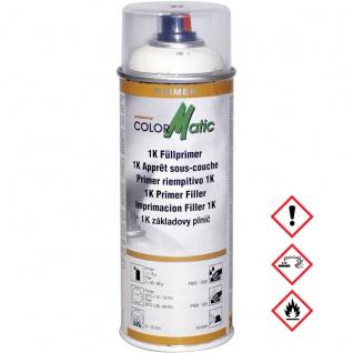 Colormatic 1K Fuellprimer weiß HG1 Grundierung Füllkraft 400ml