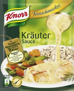 Knorr Feinschmecker Kräuter Sauce, 11er Pack (11 x 250 ml)
