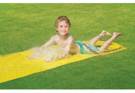Wasserrutsche gelb