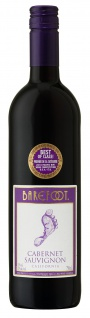 Barefoot Cabernet Sauvignon Rotwein halbtrocken aus California 750ml