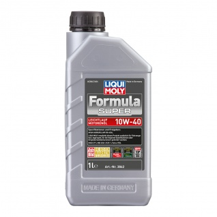 Liqui Moly Formula Super 10W 40 Mineralisches Leichtlaufmotoröl 1L