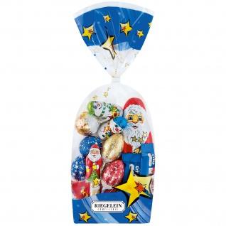 Riegelein Weihnachts Mischtüte Vollmilchschokolade Fairtrade 100g