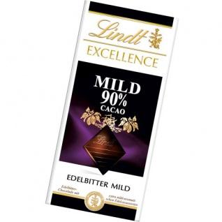 Lindt und Sprüngli mit 90 Prozent Cacao Excellence Edelbitter 100g