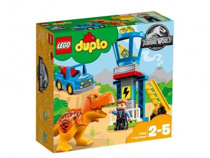 Lego Jurassic World 10880 T-Rex Aussichtsplattform Fange den Tyrannosaurus ein