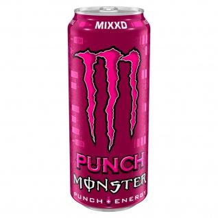 Monster Punch Energy Mixxd leicht kohlensäurehaltig 500ml 3er Pack
