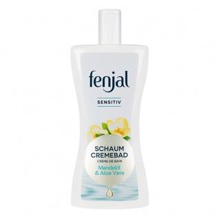 Fenjal Schaum Cremebad Sensitiv mit Mandelöl und Aloe Vera 400ml