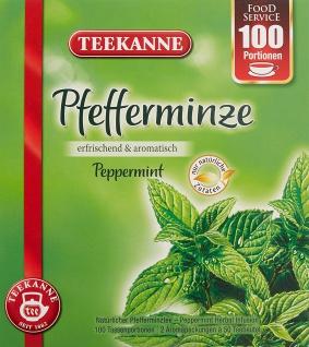 Teekanne Pfefferminze aromatisch und erfrischend 100 Portionen