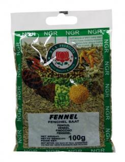 Ngr Fenchelsaat, 100g, 4er Pack (4 x 100 g Packung)