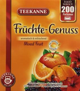 Teekanne Früchte Genuss aromatisch erfrischend 200 Portionen