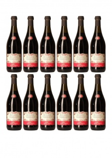 Lambrusco Reggiano Medici Ermete Dolce DOC fruchtig und spritzig 750ml 12er Pack