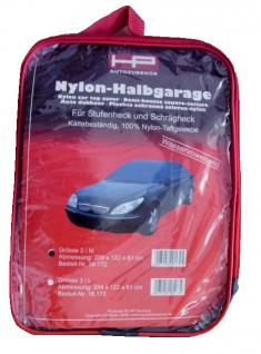 Auto Nylon-Halbgarage M Gr. 2