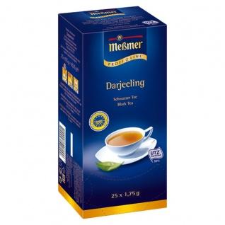 Meßmer ProfiLine Darjeeling Schwarzer Tee 25 Teebeutel 12er Pack