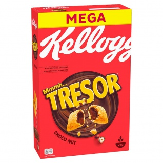 Kelloggs Tresor Choco Nut Cerealien super leckerer Knusperspaß 660g