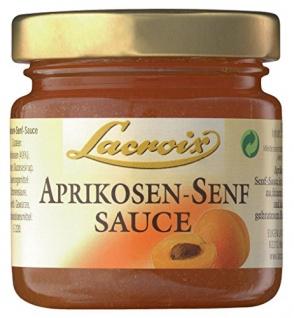 Lacroix - Aprikosen-Senf-Sauce - 90ml