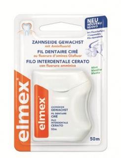 Elmex 159909 Zahnseide, gewachst, 2er Pack (2 x 1 Stück) - Vorschau
